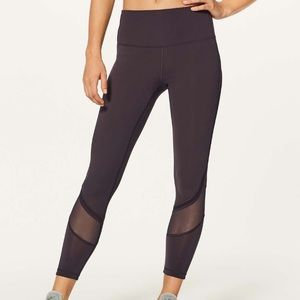 "Lululemon Fresh in Mesh 25"" tight"